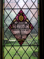 Blake J R Captain 14th Worcestershire Regt Memorial Window Worcester Cathedral