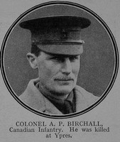 Birchall A P Col CEF The Great War Vol 6