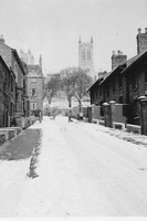 Lincoln In The Snow February 1955