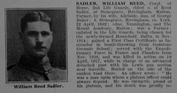 Sadler W R Cpl 2nd Life Guards Obit Part 1 De Ruvignys Roll Of Honour Vol 3