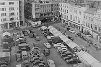 The Market Square Cambridge 1950s