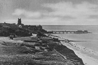 Cromer From The East Cliff 1930s