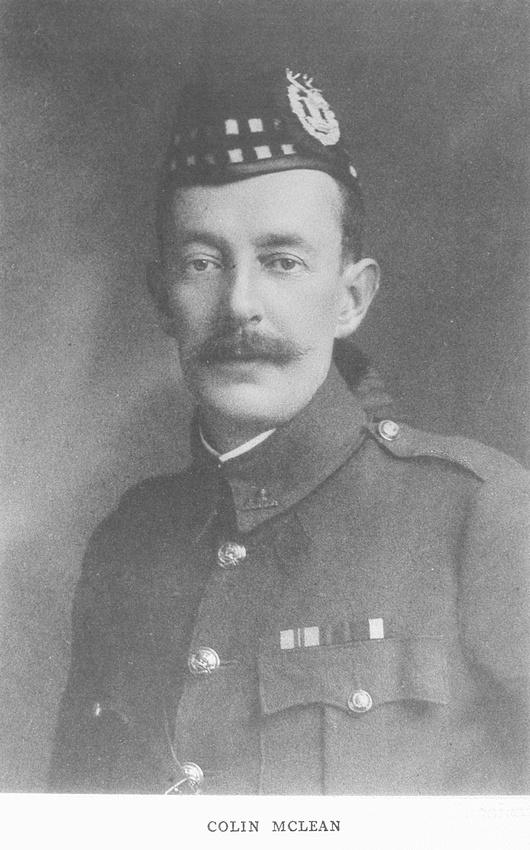 UK Photo Archive: Harrow Memorials Of The Great War Vol 1 1914-1918 Vol 1 Portraits &emdash; McClean C Lt Col Gordon Highlanders