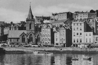 The Town Church And The Quay St Peter Port Guernsey 1920s
