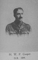 Cooper H W F 2nd Lt 7th Royal Fusiliers