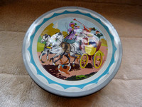 Vintage Stagecoach Quality Street Tin