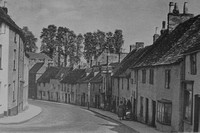 The Curving Street Malmesbury Wiltshire 1930s