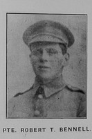 Bennell R T Pte 10/123 Wellington Regiment, N.Z.E.F.