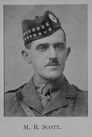Scott M B Lt 12th Royal Scots