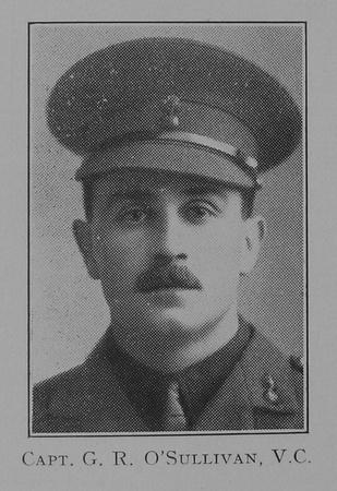 UK Photo Archive: 1917 &emdash; OSullivan G R Captain VC Royal Inniskilling Fusiliers