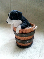 House Of Valentina Border Collie Puppy Figure