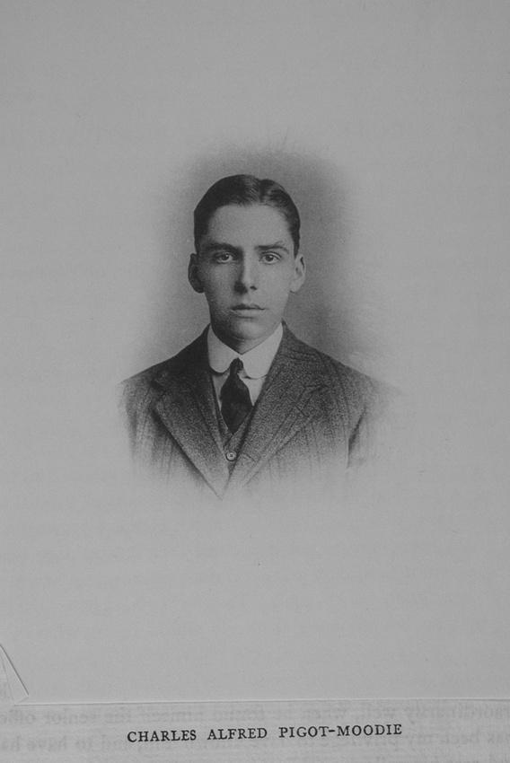 UK Photo Archive: Harrow Memorials Of The Great War Vol 1 1914-1918 Vol 1 Portraits &emdash; Pigot-Moodie C A 2nd Lt Rifle Brigade