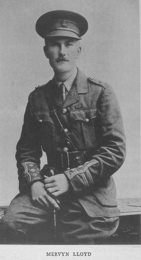 UK Photo Archive: Harrow Memorials Of The Great War Vol 1 1914-1918 Vol 1 Portraits &emdash; Lloyd M Captain Northumberland Fusiliers