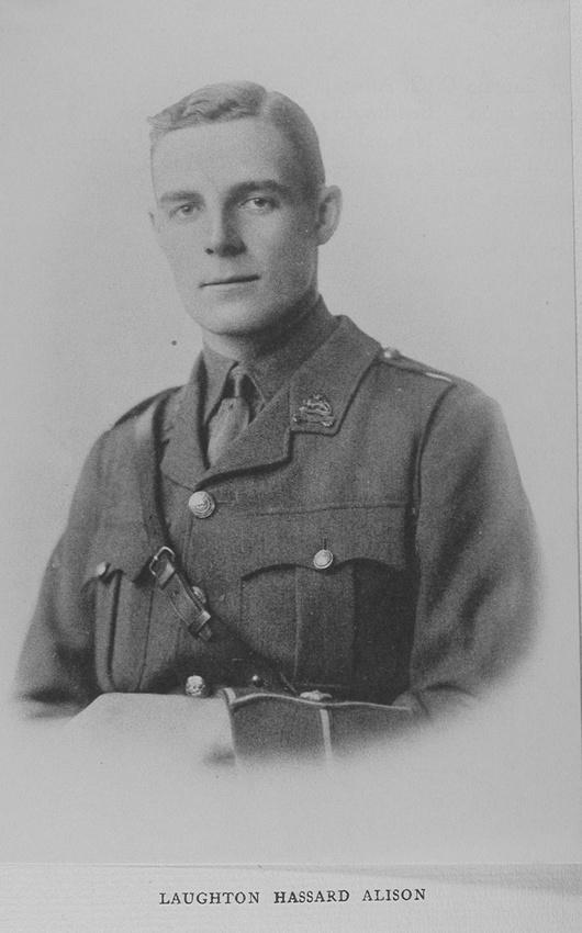 UK Photo Archive: Harrow Memorials Of The Great War  1914-1918 Vol 2 Portraits &emdash; Alison L H 2nd Lt Royal Berkshire Regiment