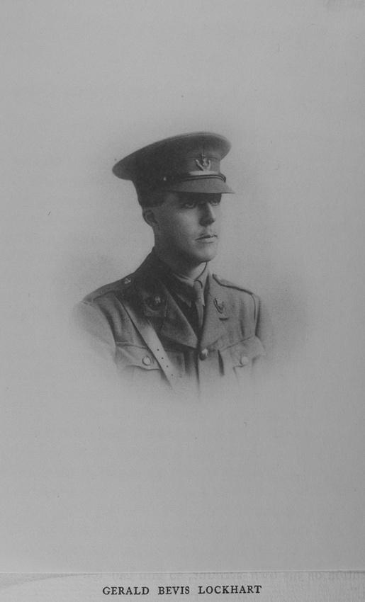UK Photo Archive: Harrow Memorials Of The Great War  1914-1918 Vol 2 Portraits &emdash; Lockhart G B Lt Loyal North Lancs Regiment