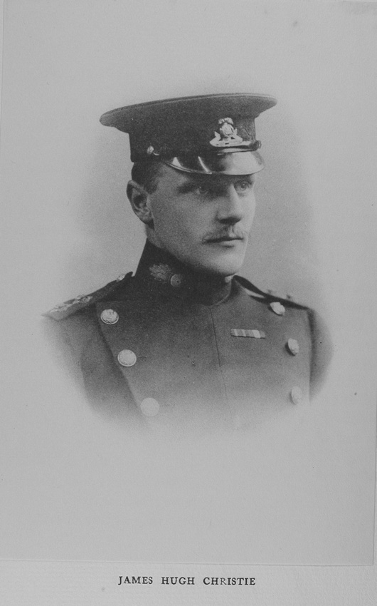 UK Photo Archive: Harrow Memorials Of The Great War  1914-1918 Vol 2 Portraits &emdash; Christie J H Captain Royal Irish Regiment