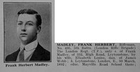 Madley F H Rfn 5th London Regt Obit Part 1 De Ruvignys Roll Of Honour Vol 2
