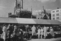 Great St Marys And The Market Place Cambridge 1930s