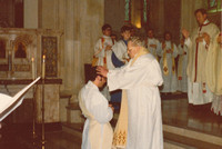 Ordination Of A Catholic Priest 1970s