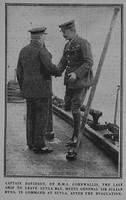 Davidson A Captain HMS Cornwallis RN Graphic 8th Feb 1916