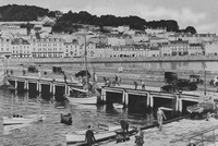 Glatney Esplanade From The Harbour St Peter Port Guernsey 1920s