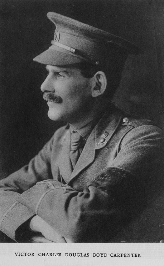 UK Photo Archive: Harrow Memorials Of The Great War Vol 4 &emdash; Boyd-Carpenter V C D Lt Royal Engineers