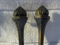 Original Vintage Art Deco Olympic Torch Handles Patent No For 1922