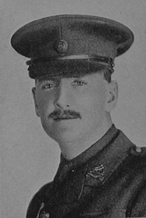 UK Photo Archive: Dulwich College War Record 1914-1919 &emdash; Hanna D M Captain 8th Royal Berkshire Regiment Dulwich College Roll Of Honour