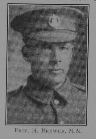 UK Photo Archive: 1917 &emdash; Brewer H Pte MM Dorset Regiment