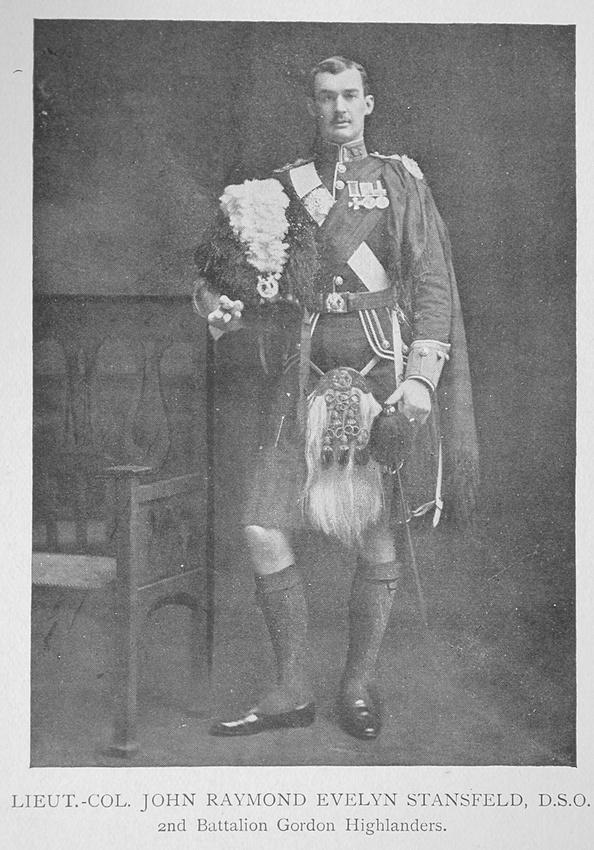 UK Photo Archive: British Roll Of Honour Vol 1 &emdash; Stansfeld J R E Lt Col DSO 2nd Gordon Highlanders