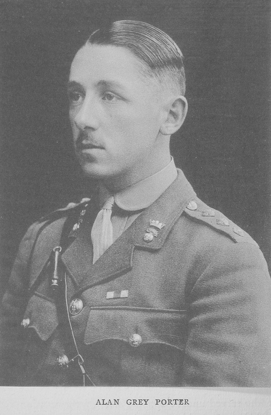 UK Photo Archive: Rugby Roll Of Honour Vol 6 1914-1918 &emdash; Porter A G Captain MC 1st Royal Irish Fusiliers