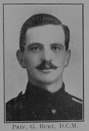 UK Photo Archive: 1917 &emdash; Burt G Pte DCM Dorset Regiment