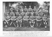 Cameron Highlanders 2nd Battalion Officers