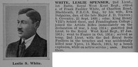White L S 2nd Lt 1st R West Kent Regt Obit De Ruvignys Roll Of Honour Vol 1