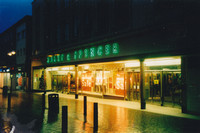 Marks And Spencer Sutton High Street Christmas Day 1990s