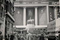 Selfridges Decorated For The Queens Coronation 1953