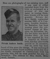 Smith A Pte 1823 14th London Regiment The Graphic 29th July 1915