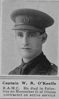 O'Keefe W R Captain Royal Army Medical Corps The Sphere 25th Jan 1919