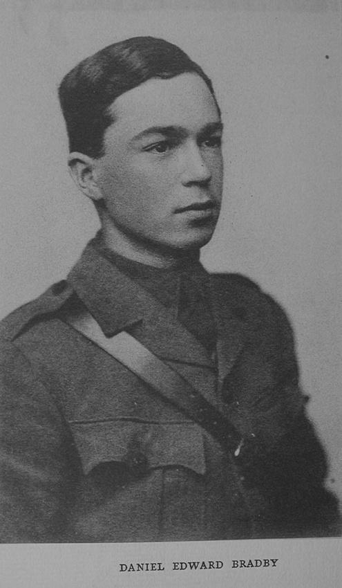 UK Photo Archive: Rugby Roll Of Honour Vol 4 1914-1918 &emdash; Bradby D E Captain 9th Rifle Brigade