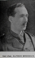 Broomer A 2nd Lt 9th Kings Royal Lancaster Regiment Hyde In War Time - Randal Sidebotham July 1916