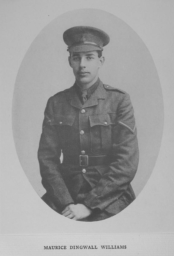 UK Photo Archive: Harrow Memorials Of The Great War Vol 1 1914-1918 Vol 1 Portraits &emdash; Williams M D 2nd Lt Royal West Surrey Regiment