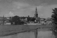 Stamford From The Welland 1930s