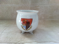 Large Crested Ware 4 Inch Bowl Scarborough