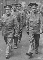 Men Of The Dockers Battalion In Liverpool