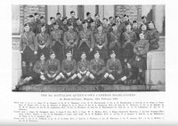 Cameron Highlanders 6th Battalion Officers