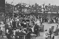 A Street Party In London For King George V Silver Jubilee May 1935