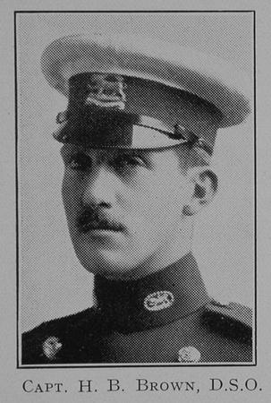UK Photo Archive: 1917 &emdash; Barrington-Brown H Captain DSO Leicestershire Regiment