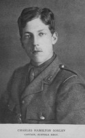Sorley C H Captain 7th Suffolk Regiment For Remembrance - Soldier Poets Who Have Fallen In The War