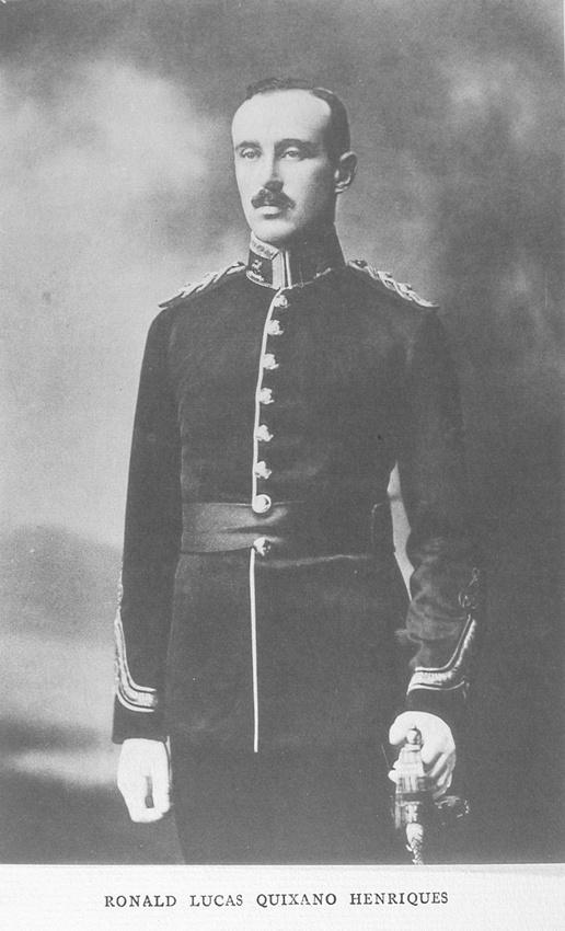 UK Photo Archive: Harrow Memorials Of The Great War Vol 1 1914-1918 Vol 1 Portraits &emdash; Henriques R L Q Lt Royal West Surrey Regiment