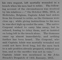 Adair W F Captain Indian Army Obit Part 3 Bond Of Sacrifice Vol 1